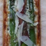 Tartine agli asparagi