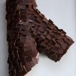 Tronchetto di Natale con pere e cioccolato