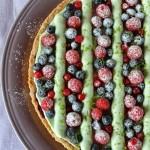 Crostata ai frutti di bosco e pistacchi