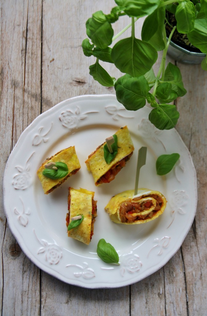 omelette alla ratatouille
