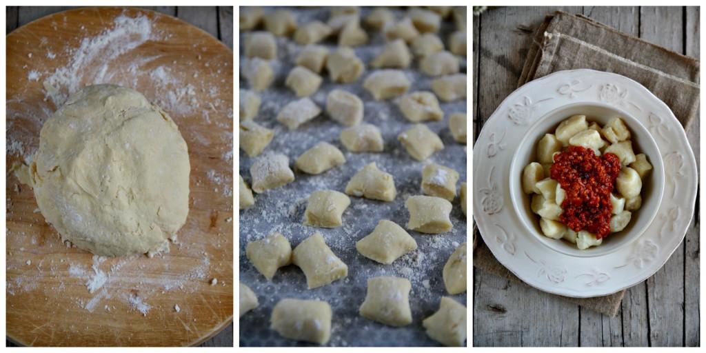 Casatella gnocchi Collage