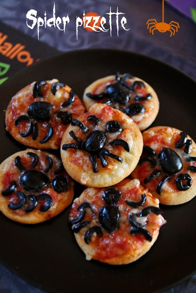 spider pizzette