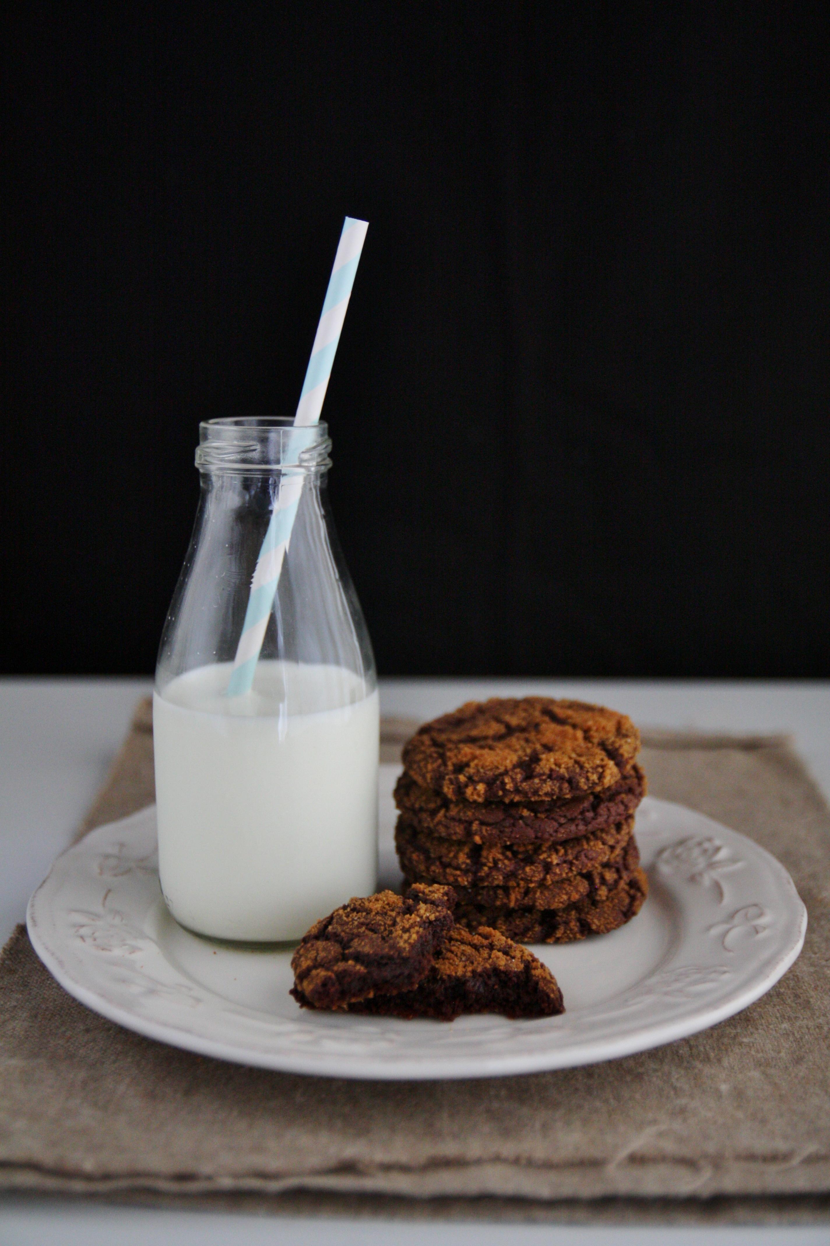 Cookies al cioccolato e speculos