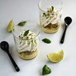 Dessert Kosmik green Mojito di Cristophe Michalak