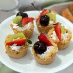 Mini crostatine alla frutta senza cottura
