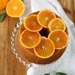 Chiffon cake all'arancia e cannella
