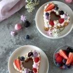 Mini cream tart ai frutti di bosco