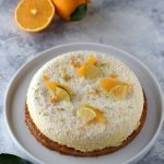 Cheesecake con marmellata di arance amare