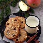 Cookies al cioccolato e mele