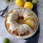 Ciambella al limone e basilico