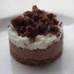 Cheesecake bianco e nero