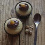 Muffin con pere caramellate e Nocciolata