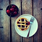 Balsamic cherry pies