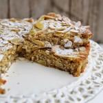 Torta alla ricotta, mandorle e limone – Gluten free