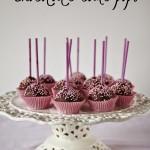 Cake pops alle noci e cioccolato