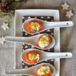 Bocconcini di salmone e Casatella Trevigiana DOP