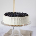 Torta ai mirtilli e yogurt greco