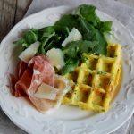 Waffle alle erbe aromatiche e Parmigiano Reggiano #PRChef2015