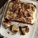 Torta super golosa al cioccolato e burro d'arachidi