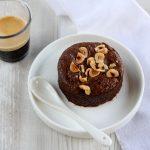 Tortino al cioccolato con cuore cremoso al pralinato