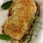 Filetto di maiale in crosta di erbe aromatiche