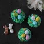 Cupcake di Pasqua con ovetti al cioccolato