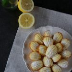 Mini madeleine al limone