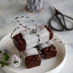 Barrette al cioccolato e quinoa soffiata