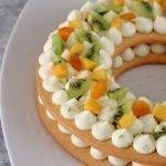 Cream tart ai frutti esotici
