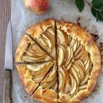 Crostata rustica di mele e pere