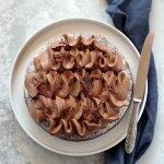 Dessert al cioccolato e banane