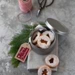Biscotti di pasta frolla e marmellata