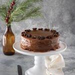 Torta speziata ai datteri e caramello