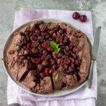 Crostata rustica alle ciliegie e cioccolato